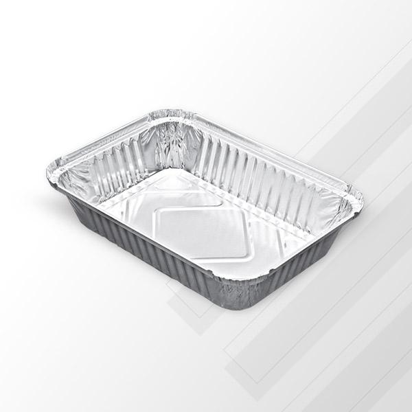 Aluminyum 3,25 kg Dikdörtgen Tepsi