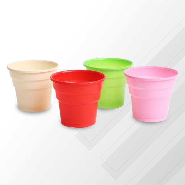 Renkli Plastik Bardak